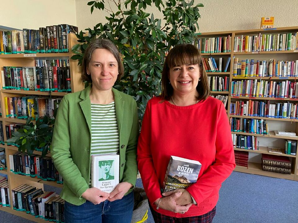 Sigrid Gschösser und Barbara Rangger beraten Sie gerne!